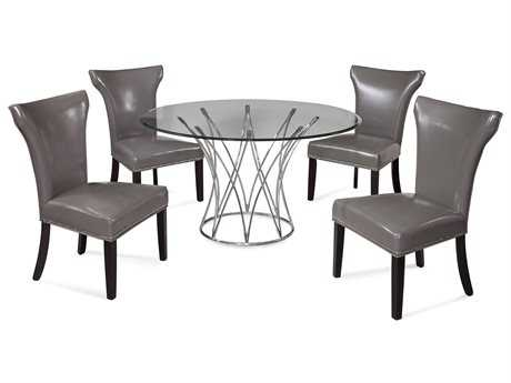 Bassett Mirror Thoroughly Modern Dining Room Set BADININGSET01