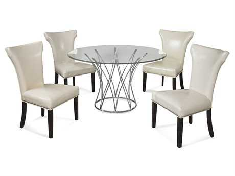 Bassett Mirror Thoroughly Modern Dining Room Set BADININGSET02