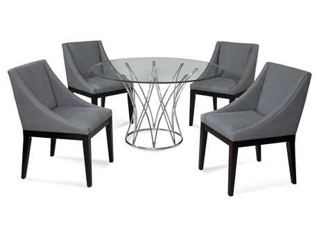 Bassett Mirror Thoroughly Modern Dining Room Set BADININGSET03
