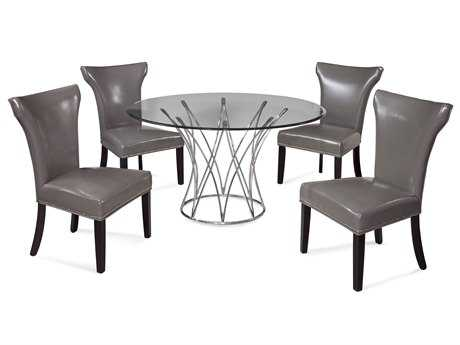 Bassett Mirror Thoroughly Modern Dining Room Set BADININGSET04
