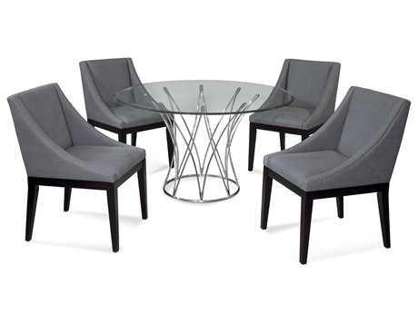 Bassett Mirror Thoroughly Modern Dining Room Set BADININGSET05
