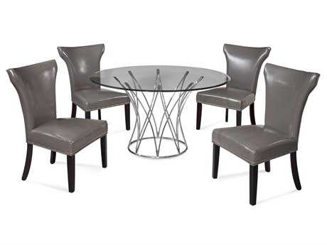 Bassett Mirror Thoroughly Modern Dining Room Set BADININGSET06