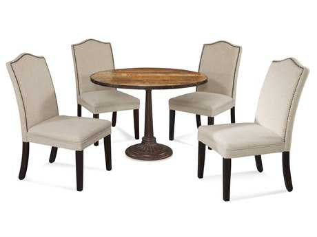 Bassett Mirror Thoroughly Modern Dining Room Set BADININGSET24