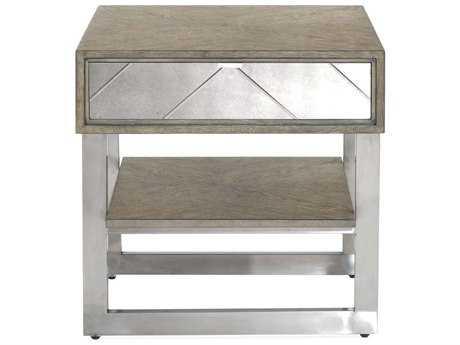 Bassett Mirror Thoroughly Modern  Soraya 24'' x 28'' Rectangular End Table BA3233LR200EC