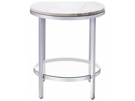Bassett Mirror Thoroughly Modern  Jadyn 22'' x 22'' Round End Table BA3259LR220EC