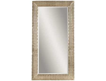 Bassett Mirror Thoroughly Modern 43 x 80 Silver Leaf Sazerac Leaner Mirror BAM3228BEC