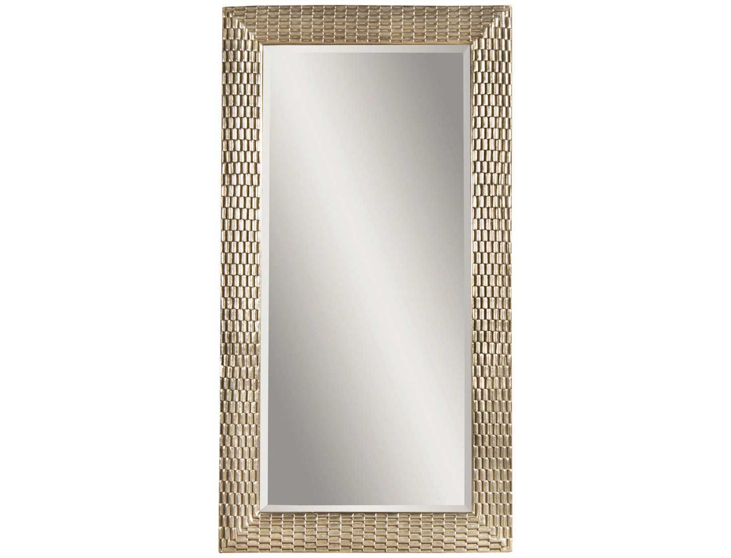Bassett Mirror Thoroughly Modern 43 X 80 Silver Leaf Sazerac