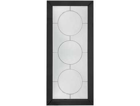 Bassett Mirror Thoroughly Modern 32 x 70 Black Mirror Hayden Leaner Mirror BAM3569BEC