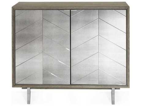 Bassett Mirror Thoroughly Modern  Soraya 40'' x 19''  Hospitality Cabinet BA3233LR475EC