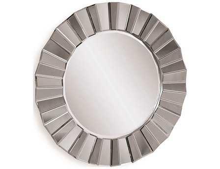 Bassett Mirror Thoroughly Modern 35 x 35 Mirrored Parker Wall Mirror BAM3200BEC
