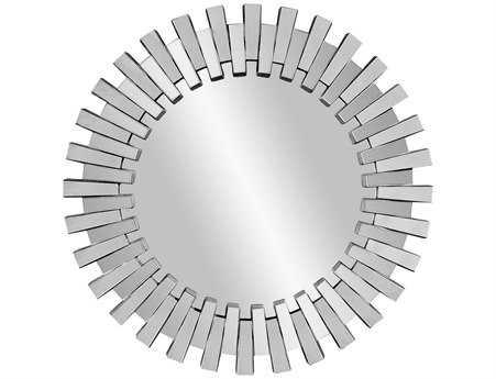 Bassett Mirror Thoroughly Modern 41 x 41 Clear Baka Wall Mirror BAM3331EC