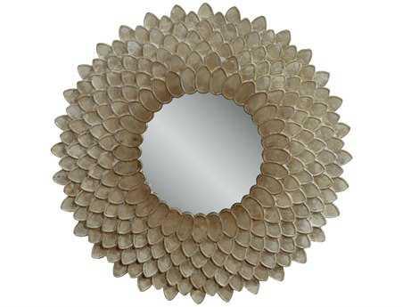 Bassett Mirror Thoroughly Modern 40x 40 Pearlescent Chloe Wall Mirror BAM3499EC