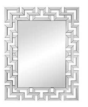 Bassett Mirror Thoroughly Modern 39 x 48 Clear Winslow Wall Mirror BAM3638BEC