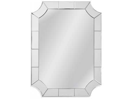 Bassett Mirror Thoroughly Modern 30 x 40 Reagan Wall Mirror BAM3779BEC