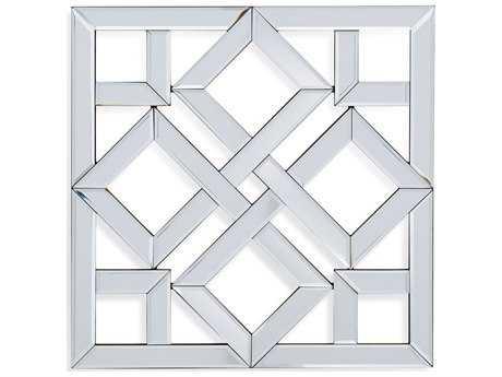 Bassett Mirror Thoroughly Modern 24'' Square Vida Wall Mirror BAM3782EC