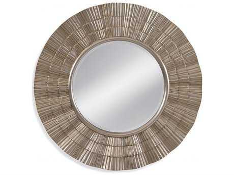 Bassett Mirror Thoroughly Modern Luana Wall Mirror Round BAM3819BEC
