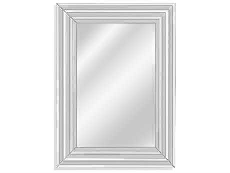 Bassett Mirror Thoroughly Modern McKinley 32'' x 43'' Clear Wall Mirror BAM3984EC