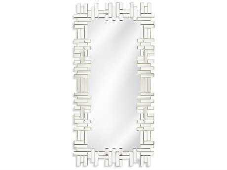 Bassett Mirror Thoroughly Modern Catalina 23'' x 46'' Clear Wall Mirror BAM3985EC