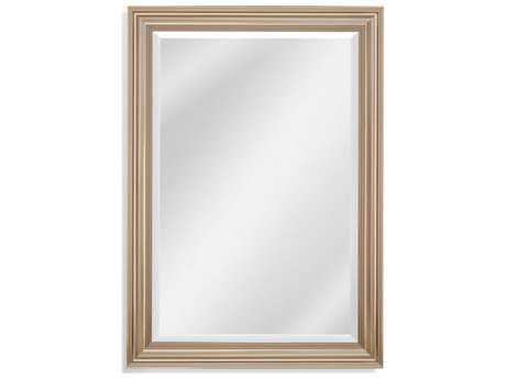 Bassett Mirror Thoroughly Modern Rachel 30'' x 41'' Champagne Wall Mirror BAM4029BEC