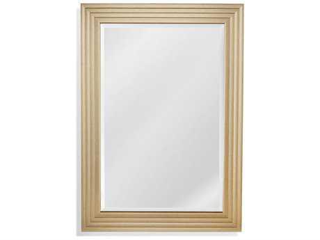 Bassett Mirror Thoroughly Modern Kali 31'' x 43'' Silver Wall Mirror BAM4031BEC