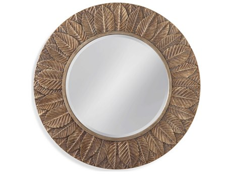 Bassett Mirror Antique Silver Leaf Wall