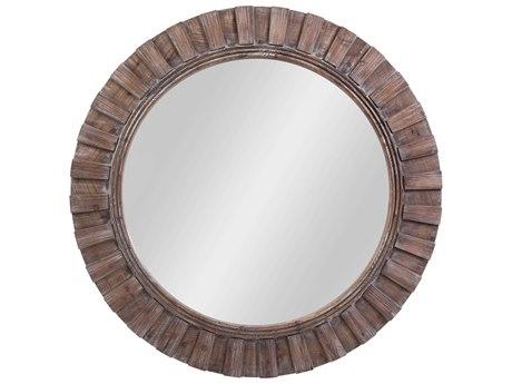 Bassett Mirror Natural Wood Wall BAM4196B