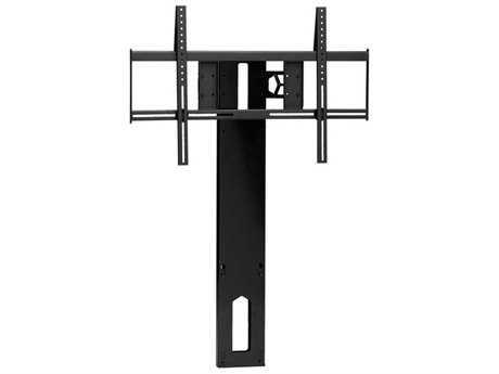 BDI Arena Gloss Black Cabinet Flat Panel TV Mount