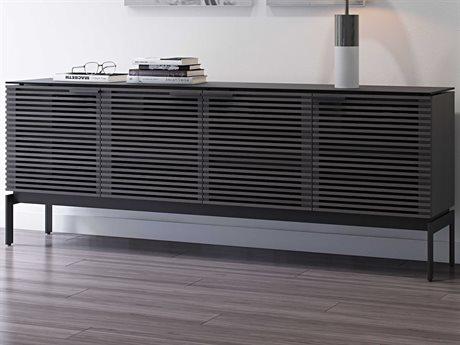 BDI Corridor Charcoal TV Stand