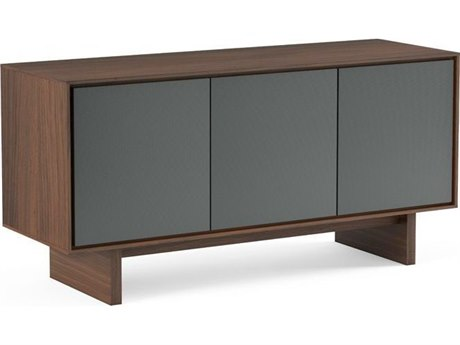 BDI Octave Toasted Walnut TV Stand BDI8377GFLTWL