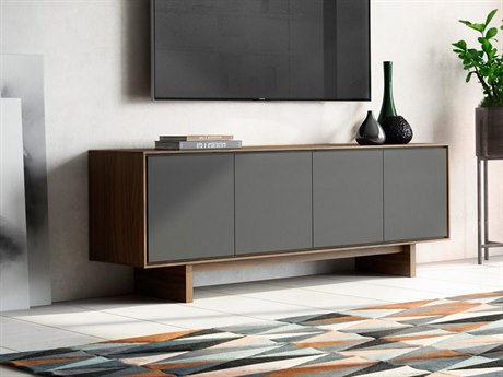 BDI Octave Toasted Walnut TV Stand