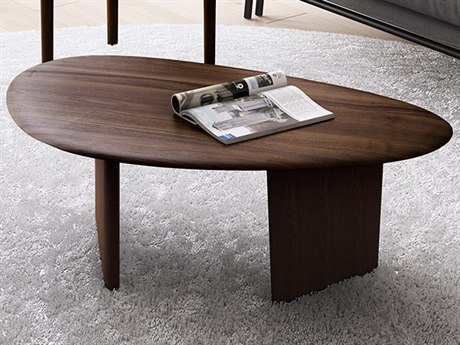 BDI Orlo Toasted Walnut 45'' Wide Coffee Table BDI1953TWL
