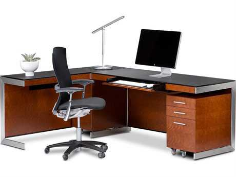 BDI Sequel Natural Stained Cherry Office Set BDI6001CHSET