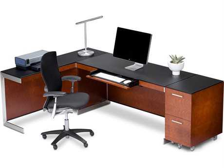 BDI Sequel Natural Stained Cherry Office Set BDI6001CHSET2