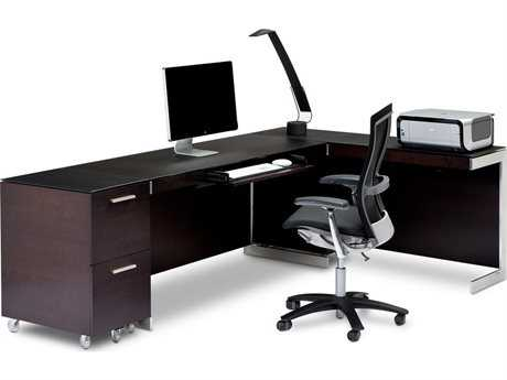 BDI Sequel Espresso Stained Oak Office Set