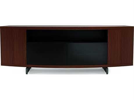 BDI Sweep 78''L x 13.8''W Triple-Width Curved Cabinet TV Stand BDI8438