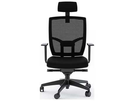 BDI TC-223 Black Fabric Computer Office Chair BDI223DHFB