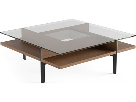 BDI Terrace Natural Walnut 44'' Square Coffee Table BDI1150WL