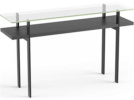 BDI Terrace Charcoal 50''L x 13''W Rectangular Console Table BDI1153CRL