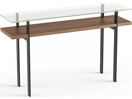 BDI Terrace Natural Walnut 50''L x 13''W Rectangular Console Table BDI1153WL