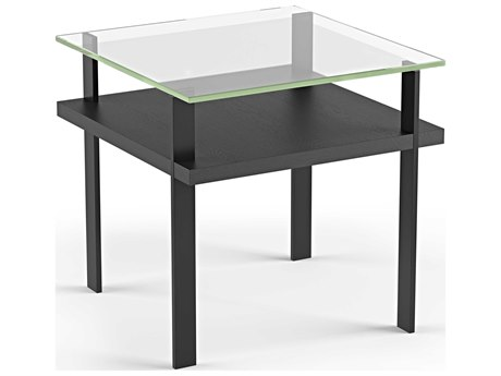 BDI Terrace Charcoal 22'' Square End Table BDI1156CRL
