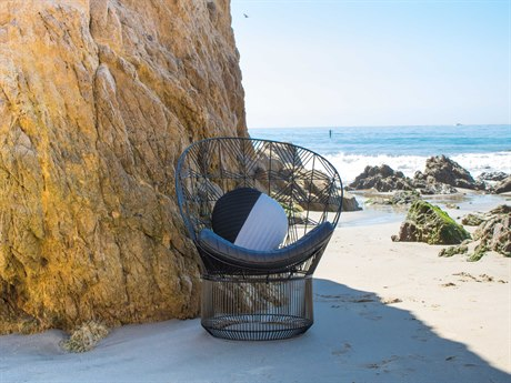 Bend Goods Peacock Black Accent Chair BNDPEACOCKBLK