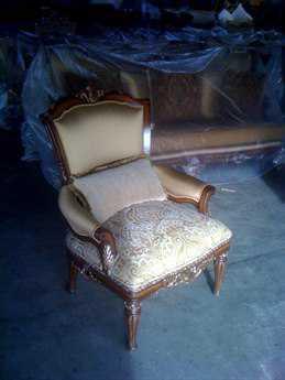 Benetti's Italia Furniture Catalon Accent Chair BFCATALONACCENTCHAIR