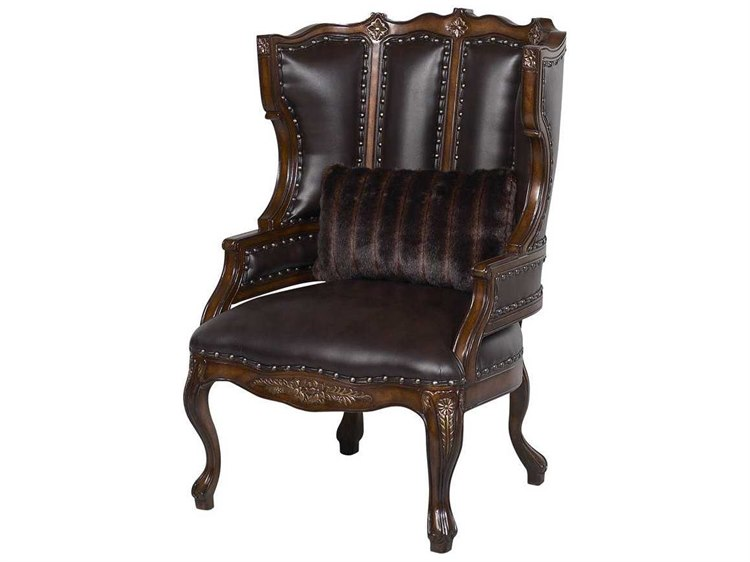 Accent Chairs Wingback.Benetti S Italia Cavalli Wing Back Accent Chair
