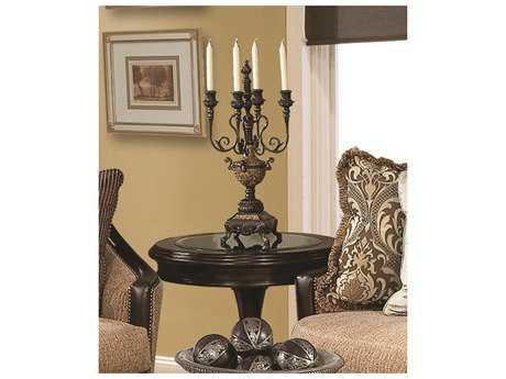Benetti's Italia Furniture Cosenza Pedestal Table