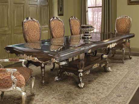 Benetti's Italia Furniture Fiore Dining Table with Extension
