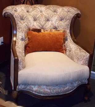 Benetti's Italia Furniture Liliana Accent Chair BFLILIANAACCENTCHAIR