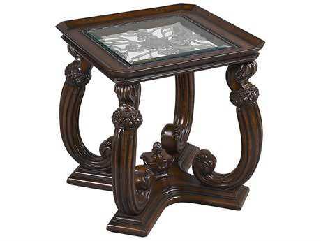 Benetti's Italia Luna 28'' Wide Square End Table BFLUNAENDTABLE