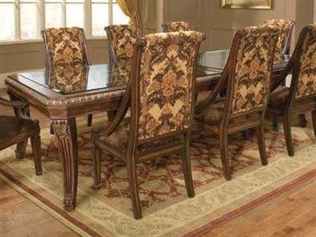 Benetti's Italia Furniture Modica Dining Table with Extension BFMODICADININGTABLEWITHEXTENSION