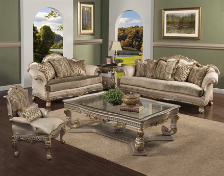 Benetti's Italia Furniture Ornella Sofa Set BFORNELLASET
