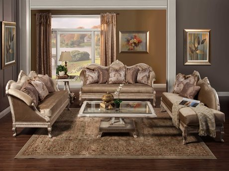 Benetti's Italia Furniture Perla Sofa Set BFPERLASET
